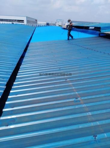 钢结构防水施工