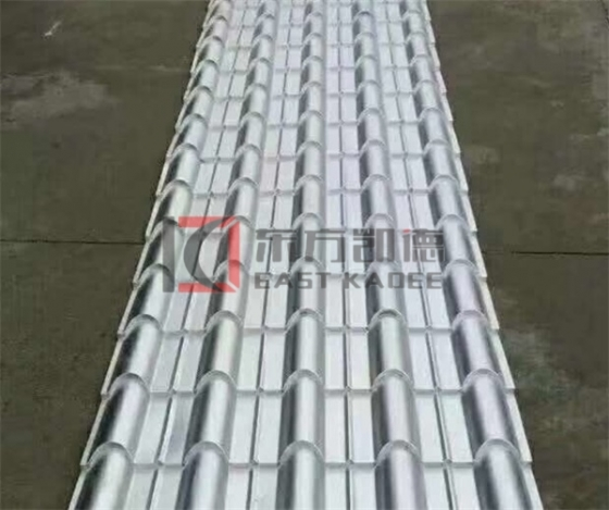 钢结构施工-反光隔热耐酸板