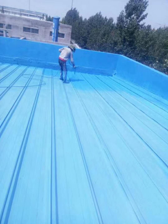 钢结构 彩钢瓦 防 水防腐 施工中照片
