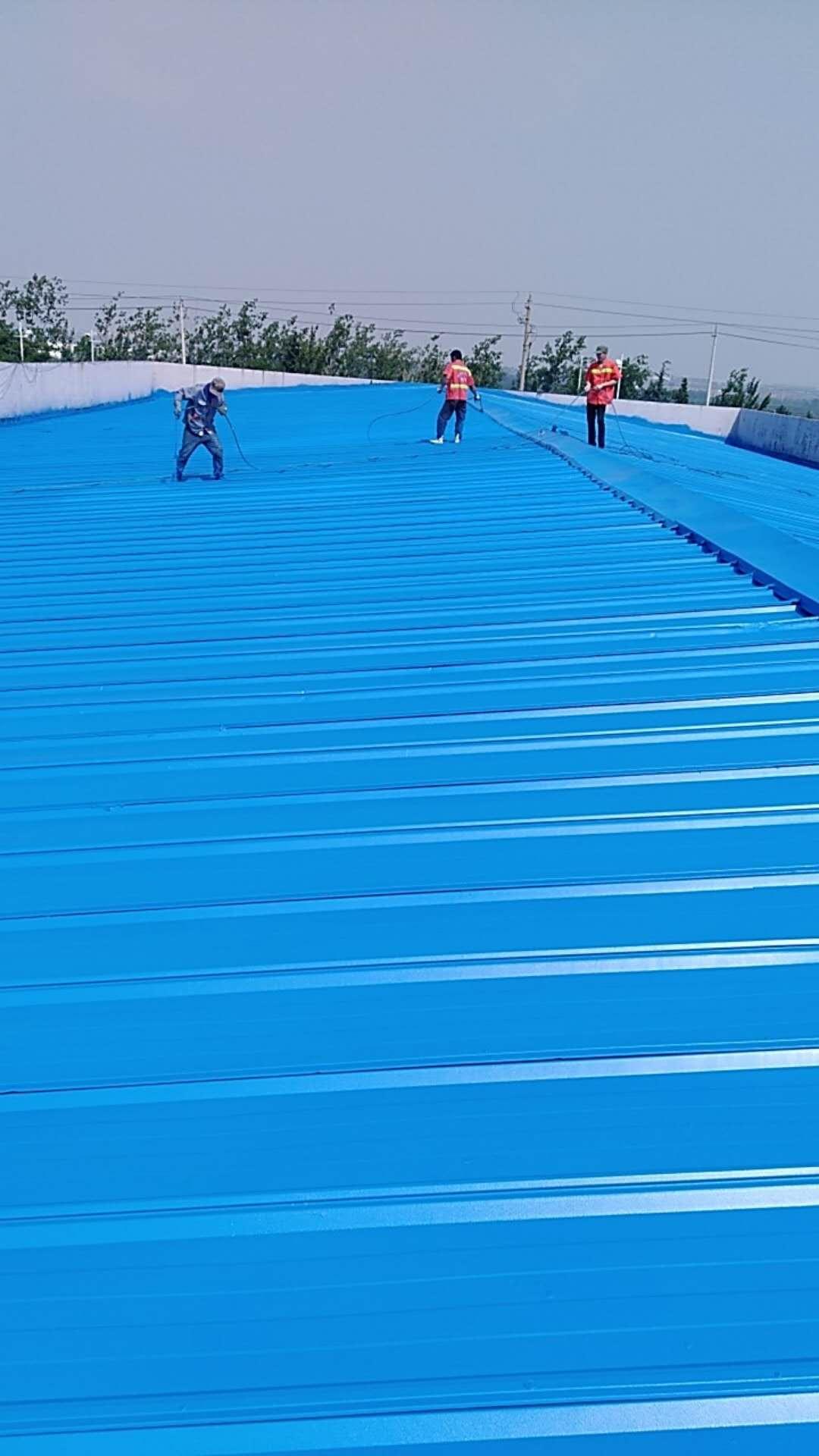 钢结构厂房 彩钢瓦金属屋面  防水 防腐 维修中